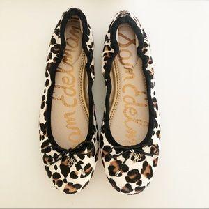 Sam Edelman Felicia Animal Print Ballet Flats